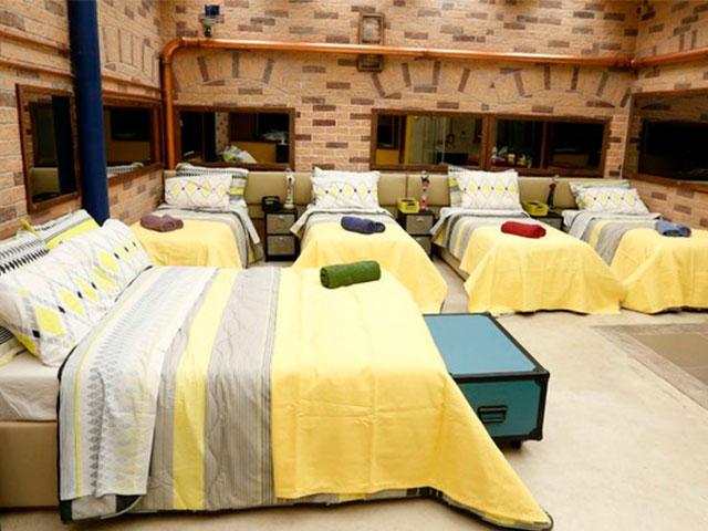 bbb decoração industrial quarto amarelo
