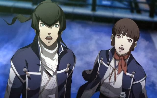 Flynn and Isabeau cannot believe their eyes
