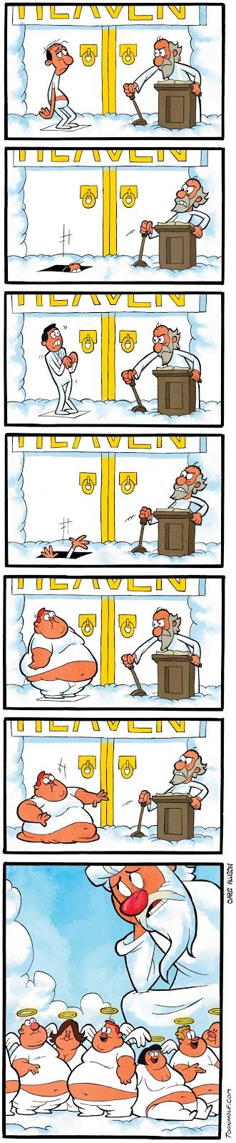 лазейка в рай 4 комикс