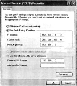 Setting IP address pada laptop