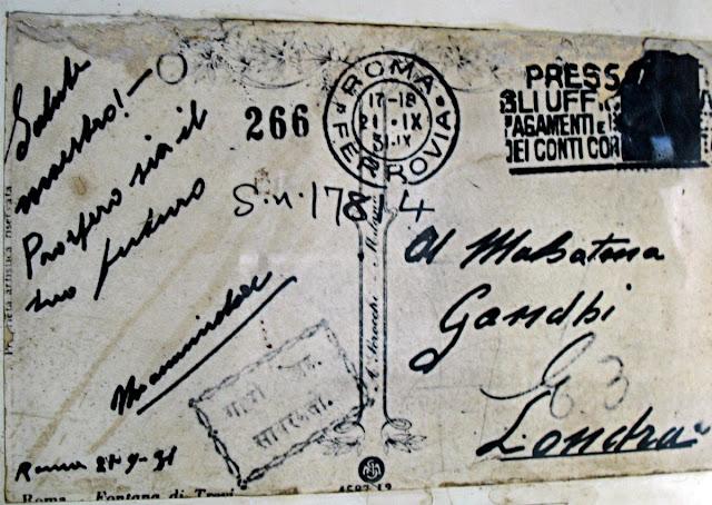 letter to Mahatma Gandhi