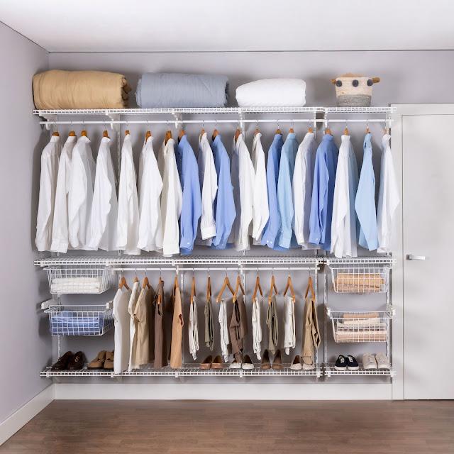 Armário aramado kit 47 - Closet ou quarto