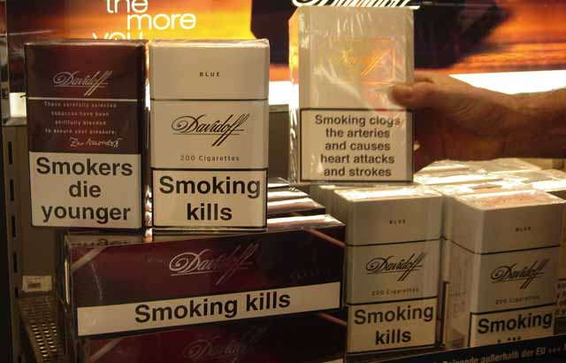 Support For Plain Cigarette Packets In Guernsey