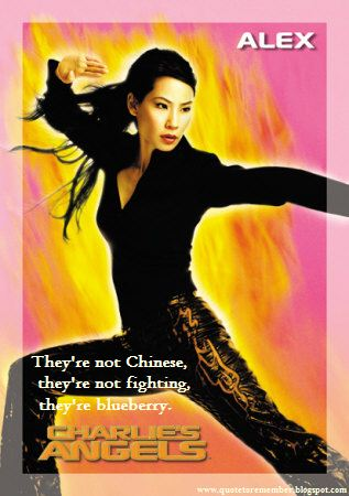 Never send a man to do a woman's job. Charlies Angels 2000