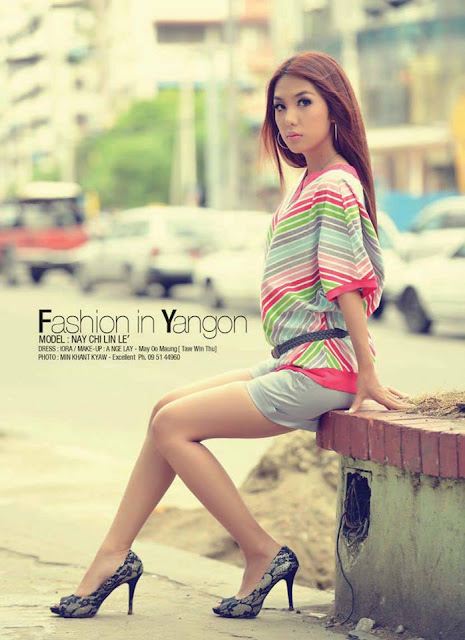 Nay Chi Linn Lei - Myanmar Model Girls