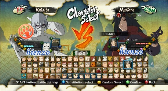 Naruto Shippuden: Ultimate Ninja Storm 3 - All Characters Unlocked