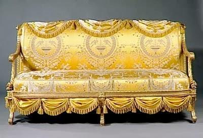 Panchina Luigi XVI Georges Jacob