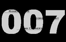 007 James Bond - 50 Jahre, 6 Darsteller
