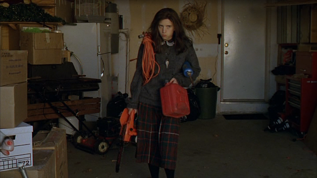 GINGER SNAPS: Emily Perkins as Brigitte Fitzgerald