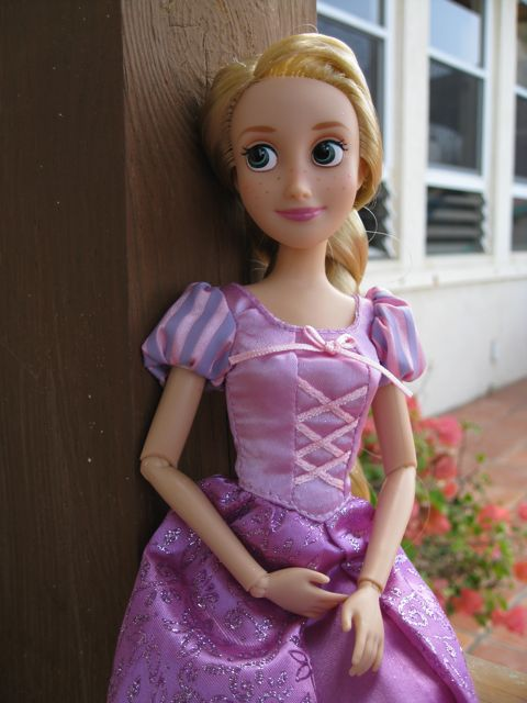 New Rapunzel Disney Store doll