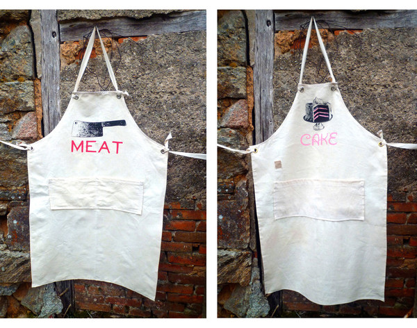 his and hers aprons