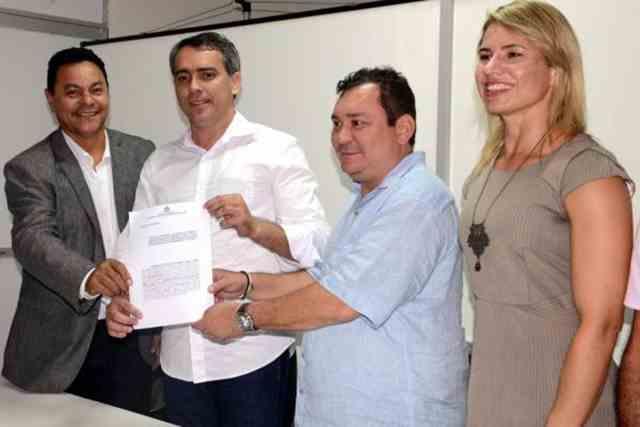 Júlio Pinheiro, Márcio Jardim, Ivaldo e Joslene
