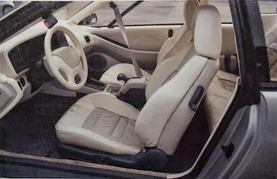Interior, Subaru SVX