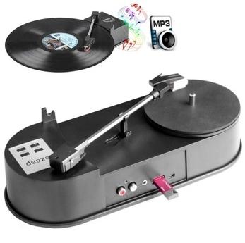 Проигрыватель для виниловых пластинок с функцией перевода в MP3