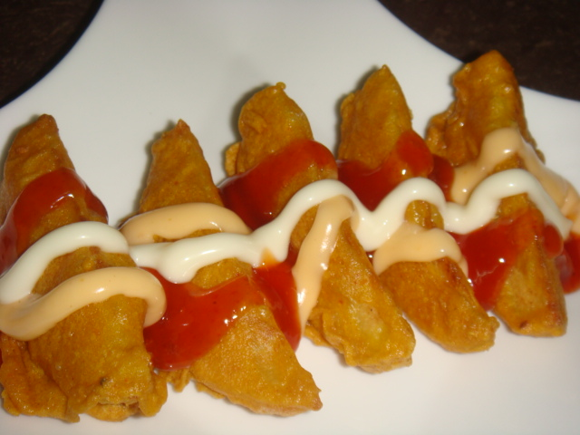 resepi kentang goreng wedges