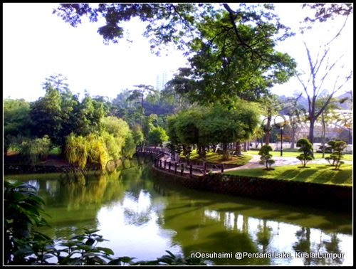 Perdana Lake Kuala Lumpur