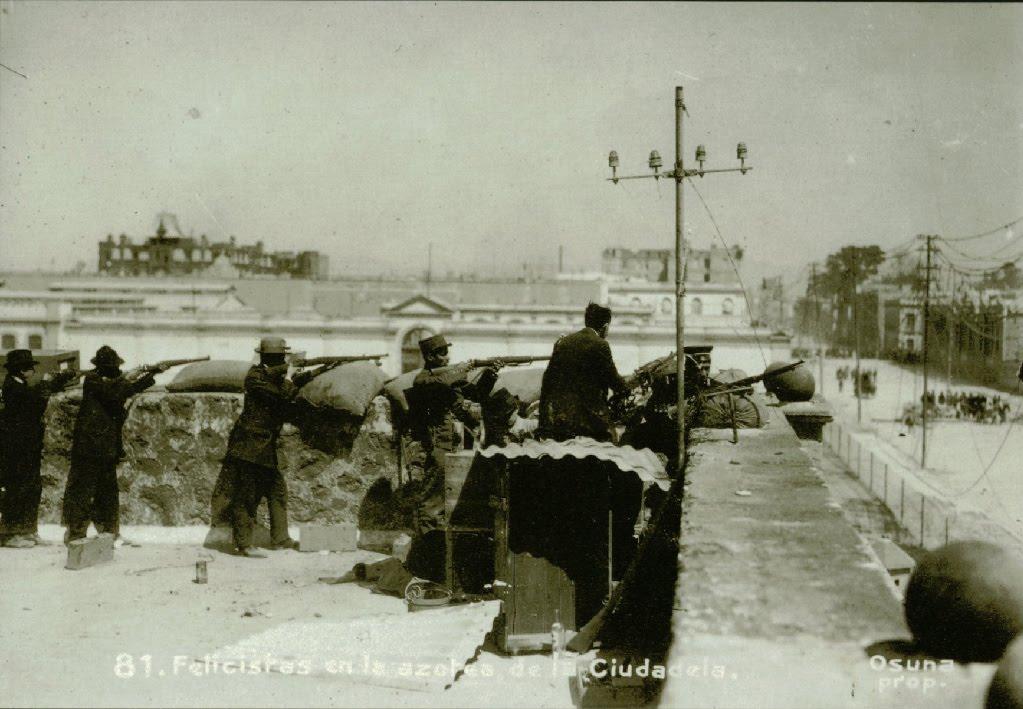 La muerte de Madero 1913+decena+tragica,+azotea+ciud+y+atras+edif+vizcaya