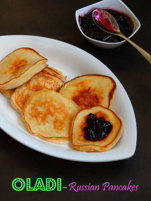 Oladi, Russian Mini Pancakes
