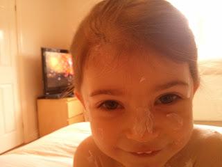 cream face