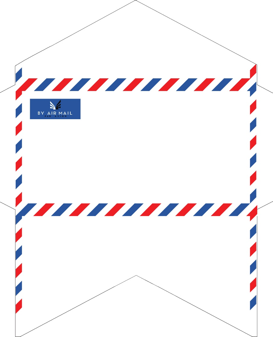 Crazy image pertaining to envelope printable