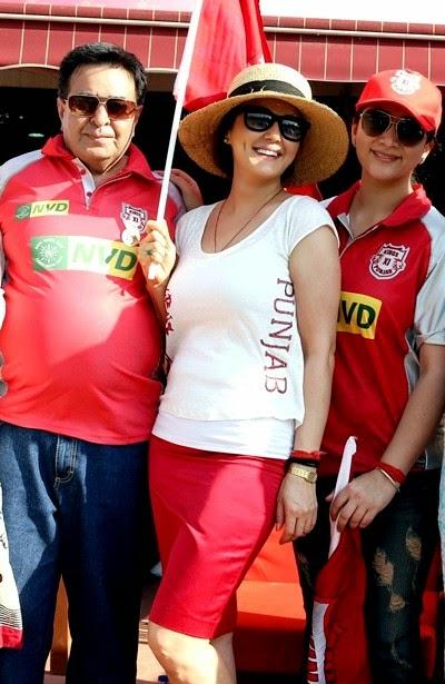 Preity Zinta IPL Fashion