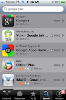 Google plus iphone app