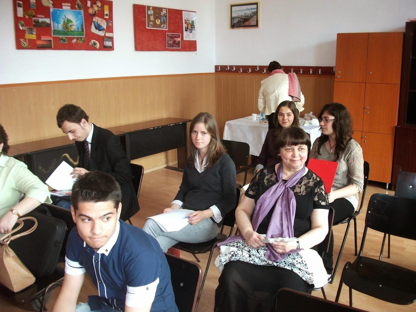 Aspecte de la concursul de Referate şi comunicări ale elevilor de liceu - 23 mai 2014