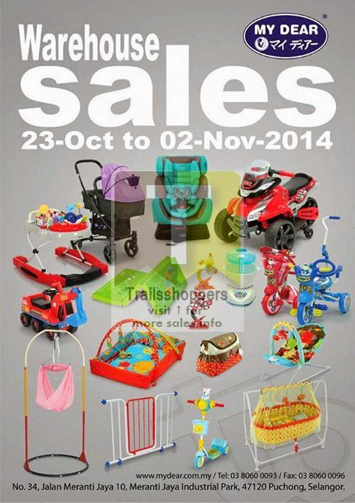 My Dear Warehouse Sale Puchong