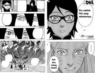 Baca Komuk Naruto Gaiden Chapter 8 – Hal yang Sebenarnya