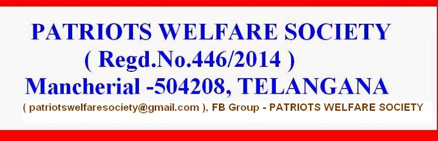 PATRIOTS WELFARE SOCIETY
