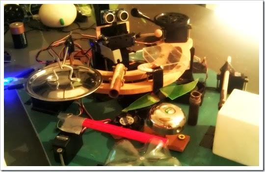 Robô baterista com Arduino