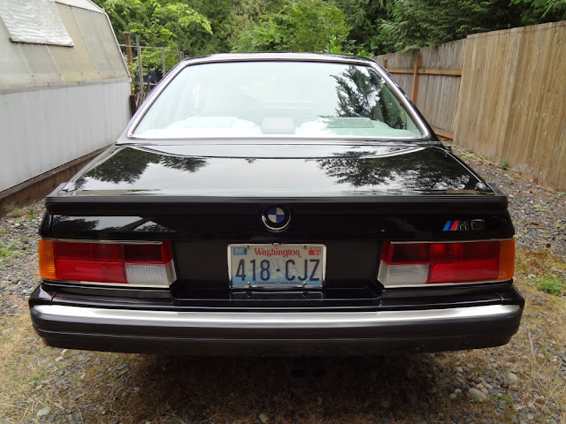 Tamerlane's Thoughts: 1988 BMW M6 E24 for sale
