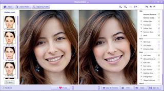 Perfect365 makeUp magic screen shot