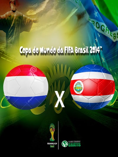 Holanda x Costa Rica Quartas de Final Copa do Mundo 2014