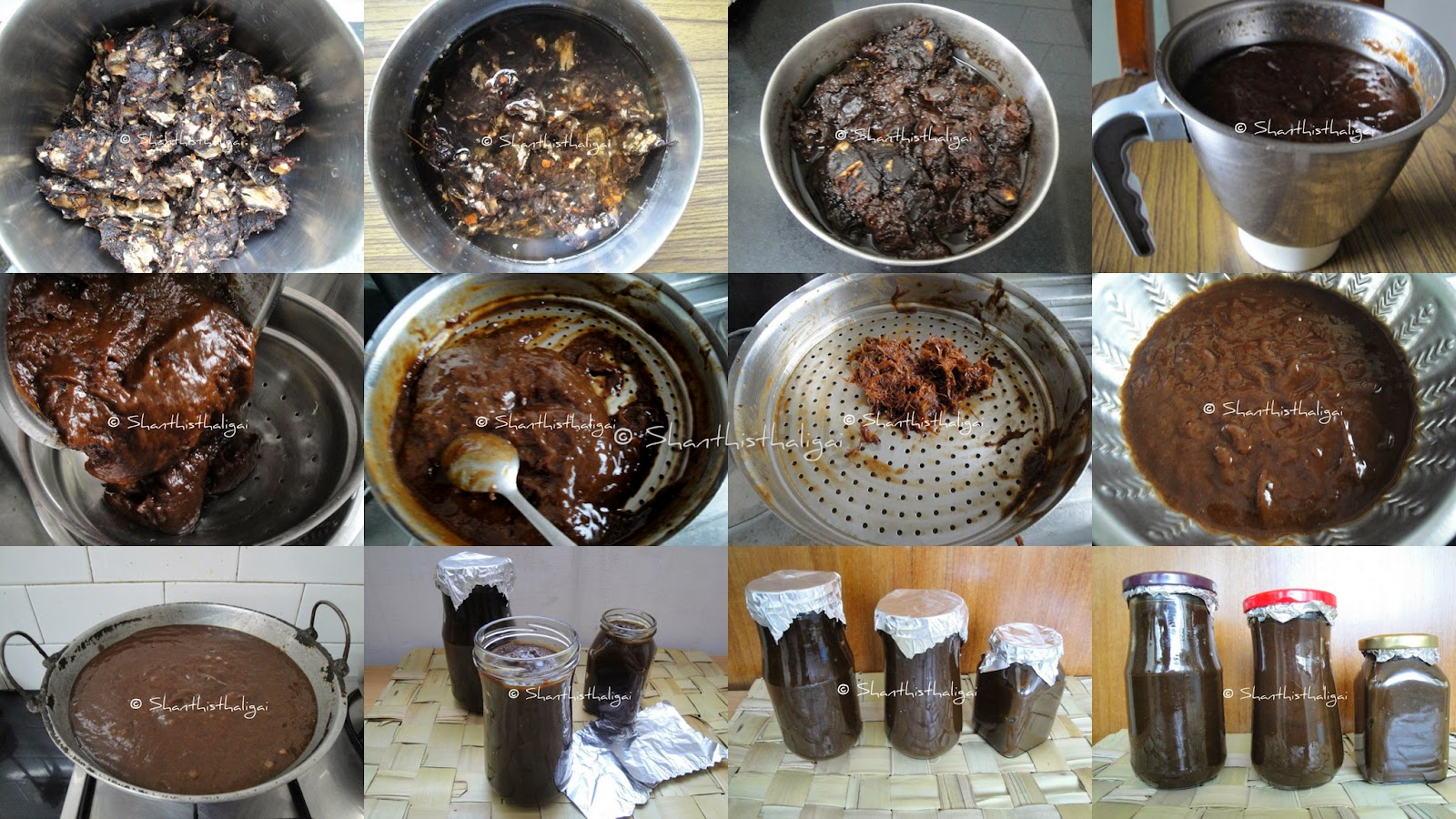 HOMEMADE TAMARIND PASTE , PULI PASTE, HOW TO MAKE  HOMEMADE TAMARIND PASTE
