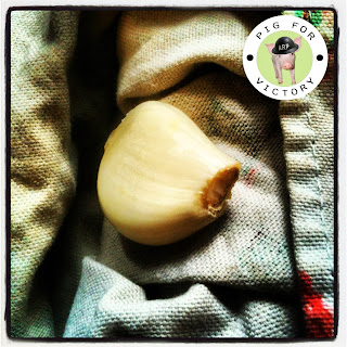 Garlic is great for preserving. Wartime garden tricks.