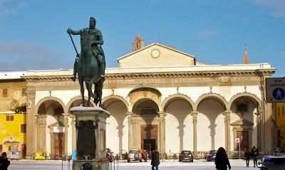 Santissima Annunziata Basilica in Florence