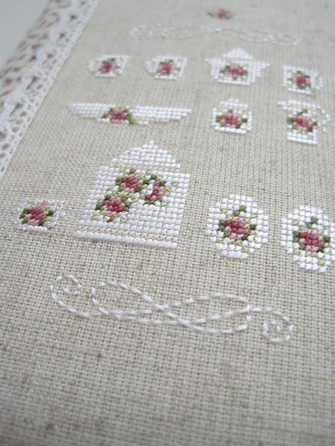 cross stitch вышивка rosengarten