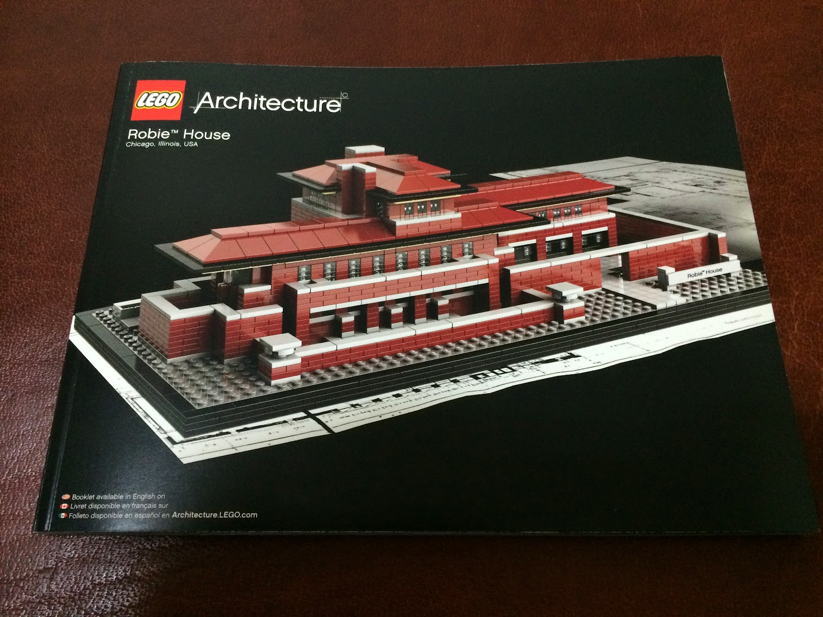 Lego architecture robie house for B isdn architecture