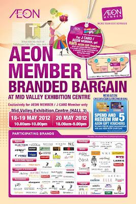 AEON Member Branded Bargain Mid Valley