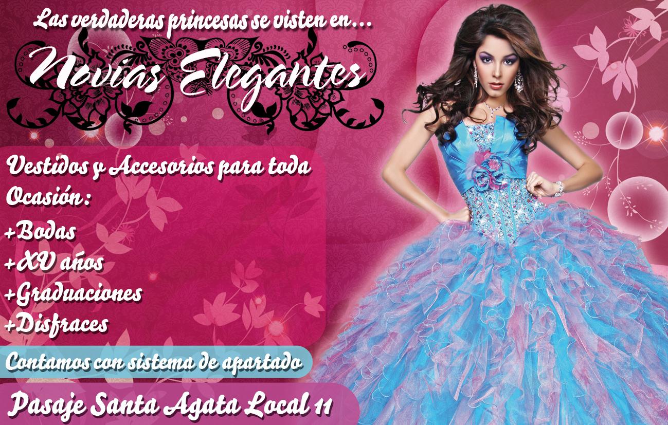 Novias Elegantes | Publicidad en Cosamaloapan MantelPubliko