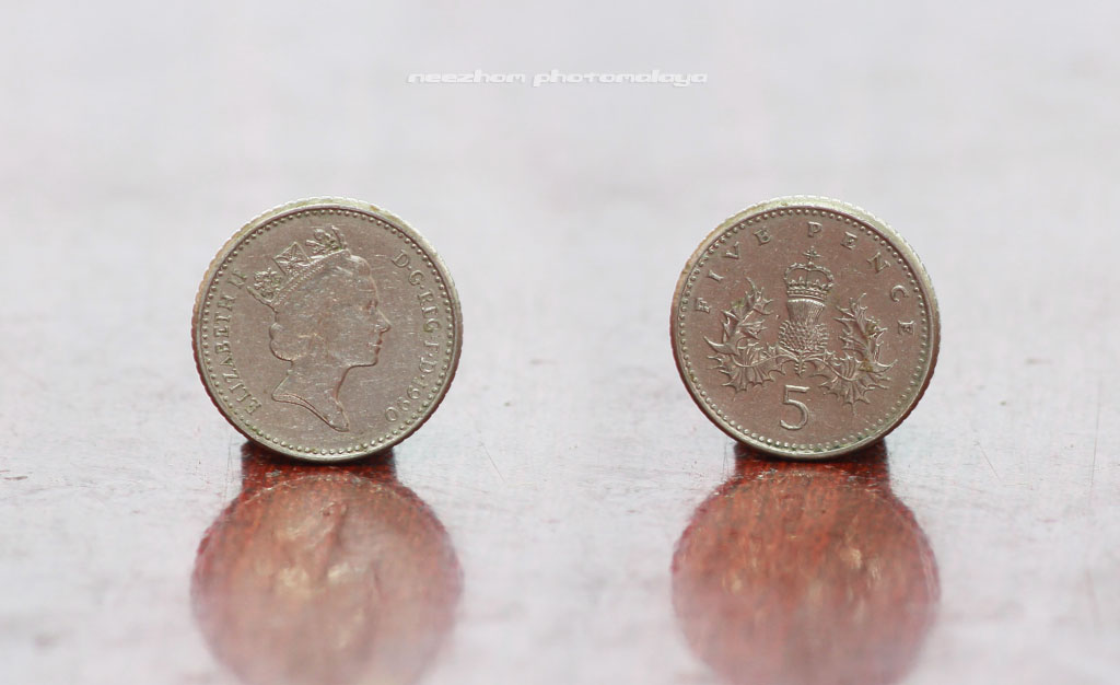 5 Pence 1990