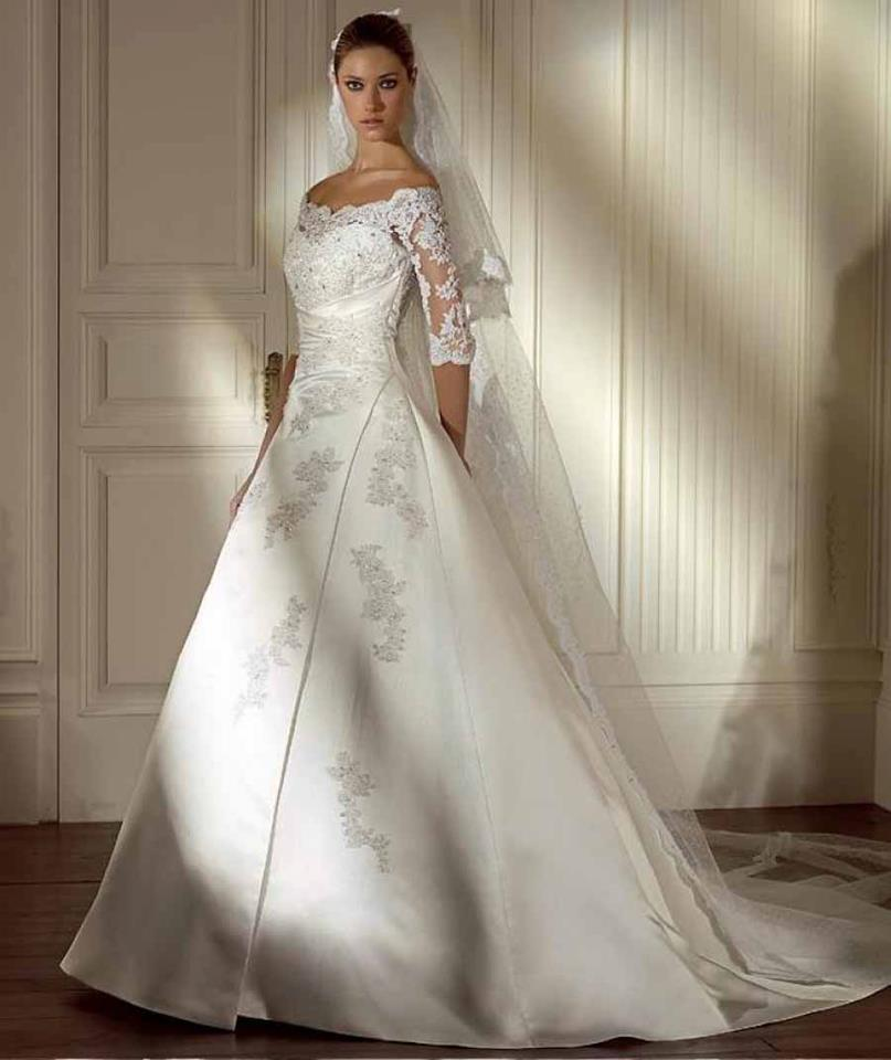 White Wedding Dresses: White Wedding Dresses