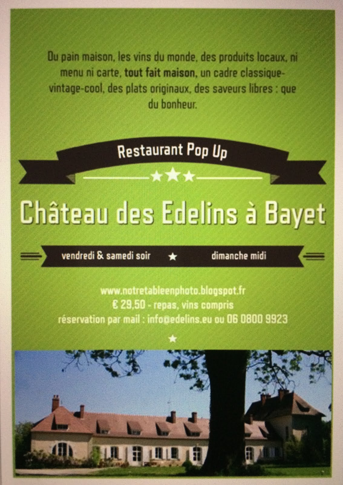 Bienvenue au Château
