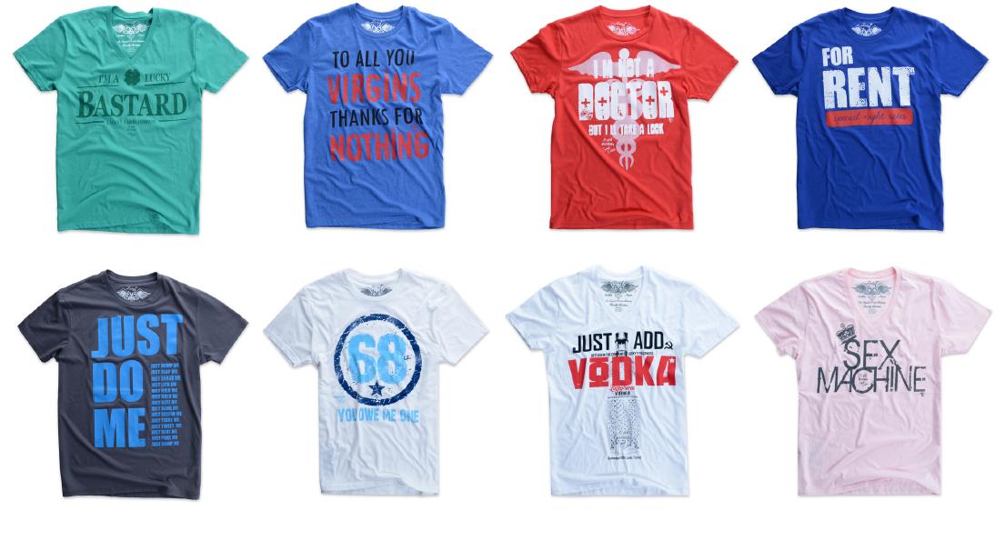 Sarah velasco lucky 7 the original t shirt company for Online tee shirt companies