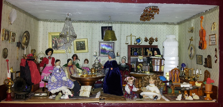 Dollhouse Escapes New Drawing Room