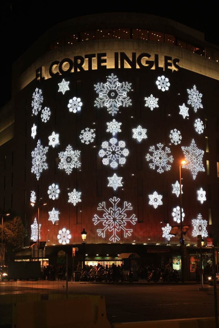 Barcelona shopping malls and outlets beautiful places of barcelona and catalonia - Estores screen el corte ingles ...