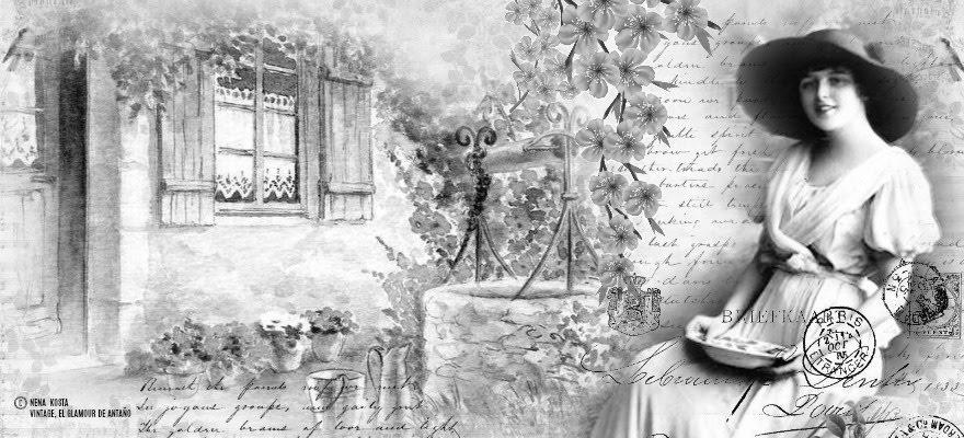 Black and white-Vintage life -Nena Kosta