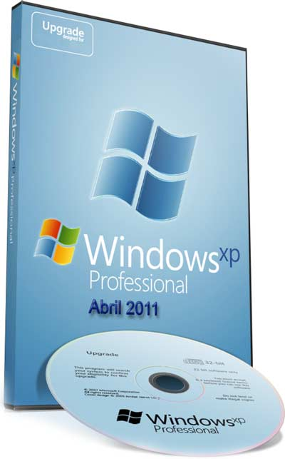 Microsoft Windows XP Professional SP3 Abril 2011 Corporate