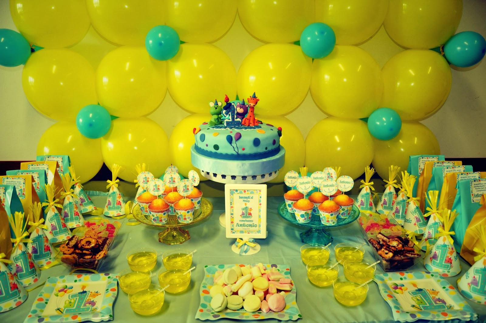 Decorazioni Da Tavolo Per Compleanno : Primo compleanno ⋆ tempo di festa